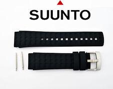 Suunto watch band strap Elementum Terra Original Black Rubber W/2Pins