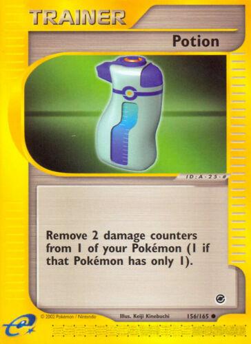 Potion 156//165 2002 Cartão De Pokemon comum-Conjunto De Base Expedition - Lp