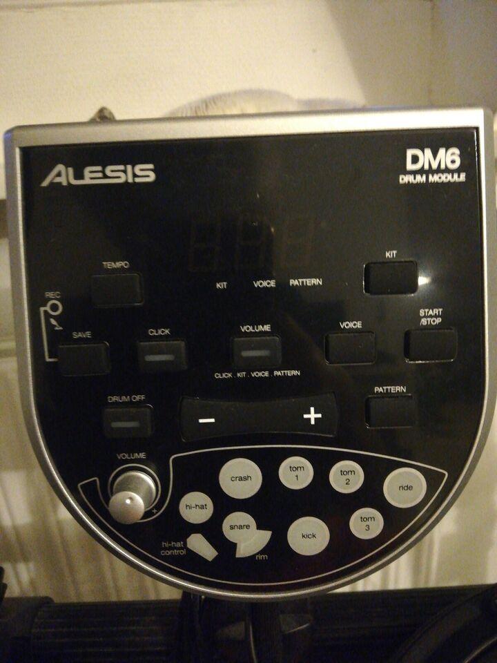 Elektronisk slagtøj, Aleses Dm6 drum modul