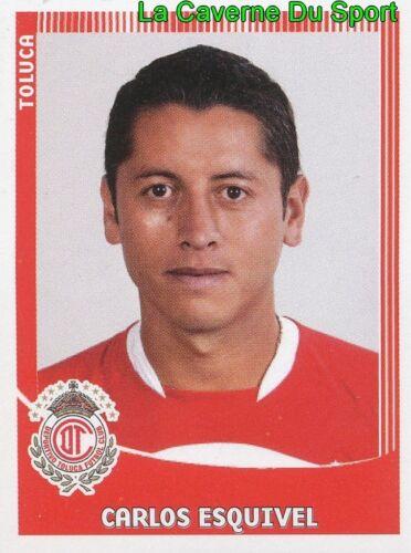 339 CARLOS ESQUIVEL MEXICO DEPORTIVO TOLUCA.FC PRIMERA DIV APERTURA 2010 PANINI