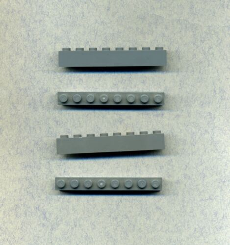 Basic Lego--3008 Grau//DkStone 1 x 8 4 Stück