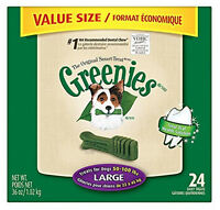 Greenies 36oz Value Canister Large Bones. 24ct.
