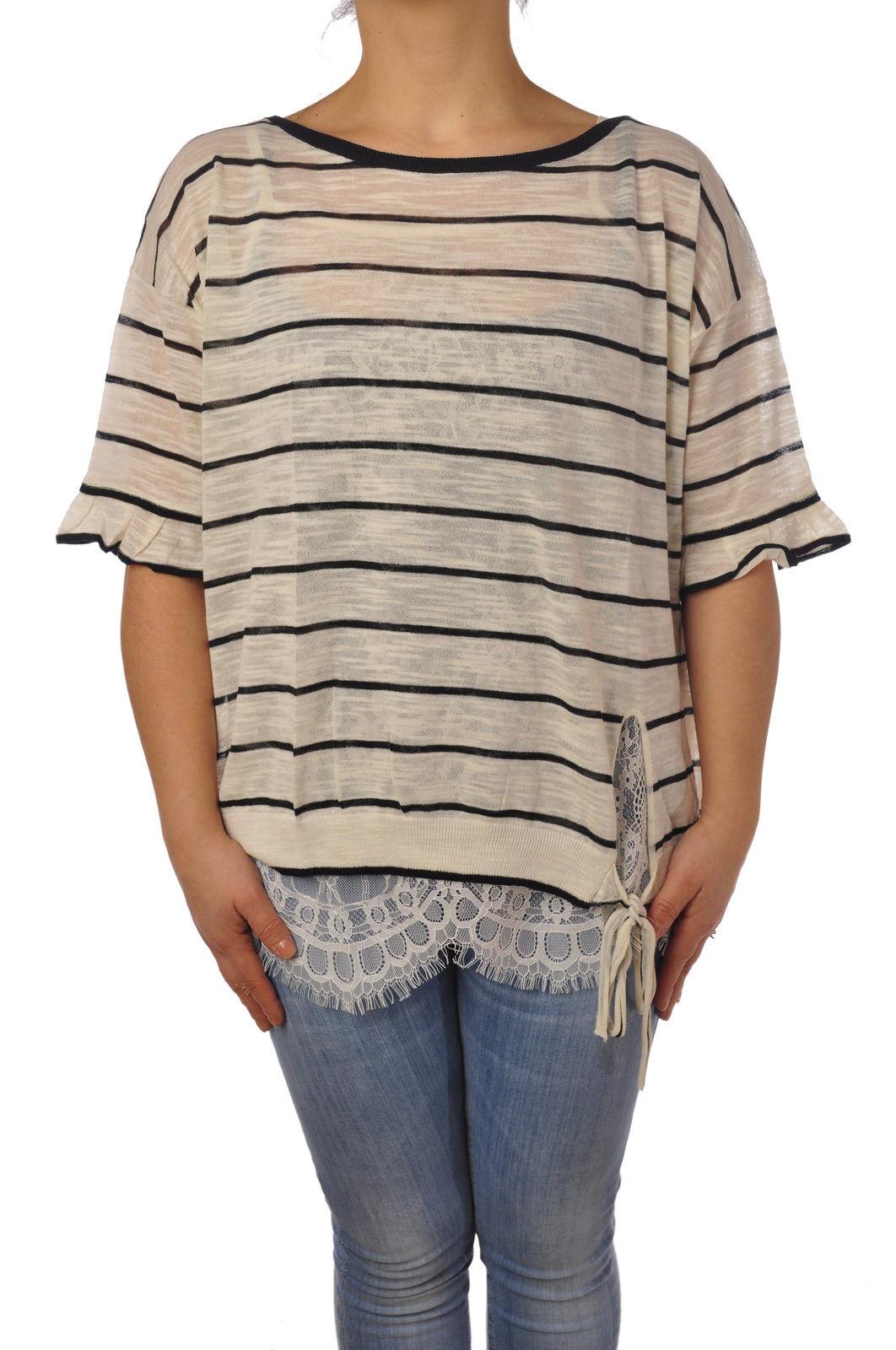 Twin Set-punto-suéteres-Mujer - blancoo - 5104829L184355   entrega rápida