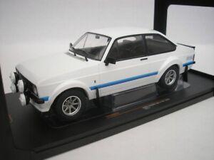 Ford-Escort-Mk-II-RS1800-1977-Blanc-1-18-Ixo-18CMC029-Neuf
