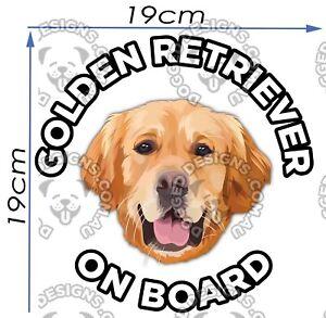 Golden-Retriever-Sticker-Golden-Retriever-Car-Sticker-Window-Decal