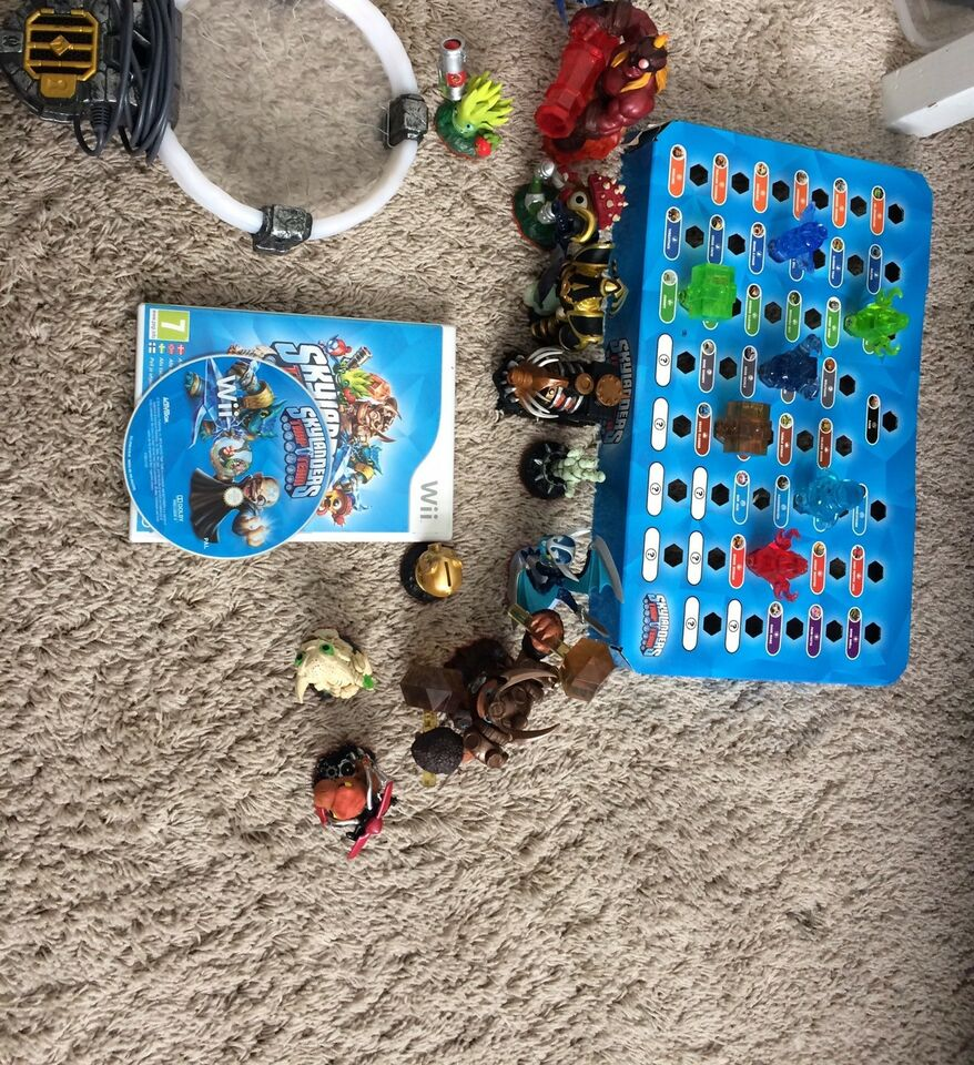 Skylanders trap team, Nintendo Wii, adventure
