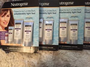 Neutrogena Ultra Sheer Sunscreen Dry Touch Spf 55 Total Of 70 Fl Oz