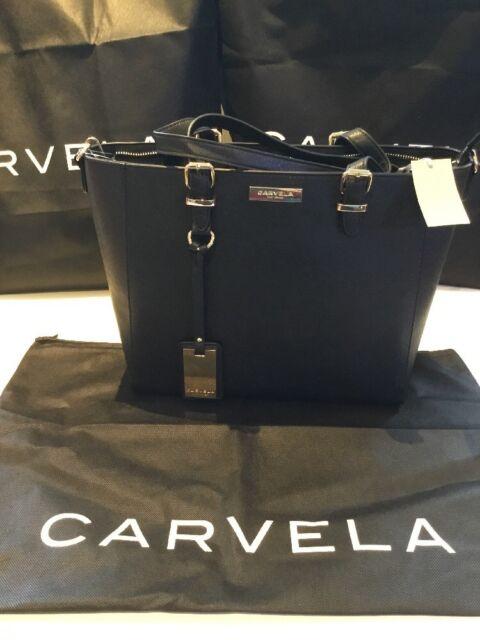 5a35f7af80 Carvela Kurt Geiger DESIGNER Winged Tote Bag Black for sale online ...