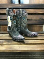 63d21fe7f4c Dan Post Women's Vintage Cambria Butterfly Western Boot Size 7 for ...