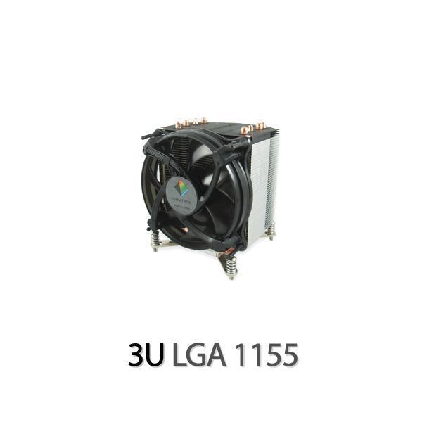 Dynatron K17 3U CPU Cooler Heatpipes, Intel LGA 1155 / 1156, i7, Xeon, Socket H2