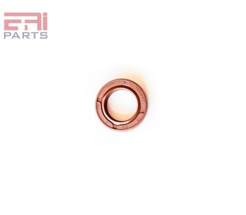 "EAI Double Lip w// Spring 0.591 /"" x 1.181 /"" x 0.276 /"" Viton Oil Seal 15X30X7 TC"