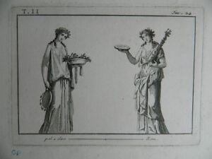 Gravur Göttin Griechisch, Anonym