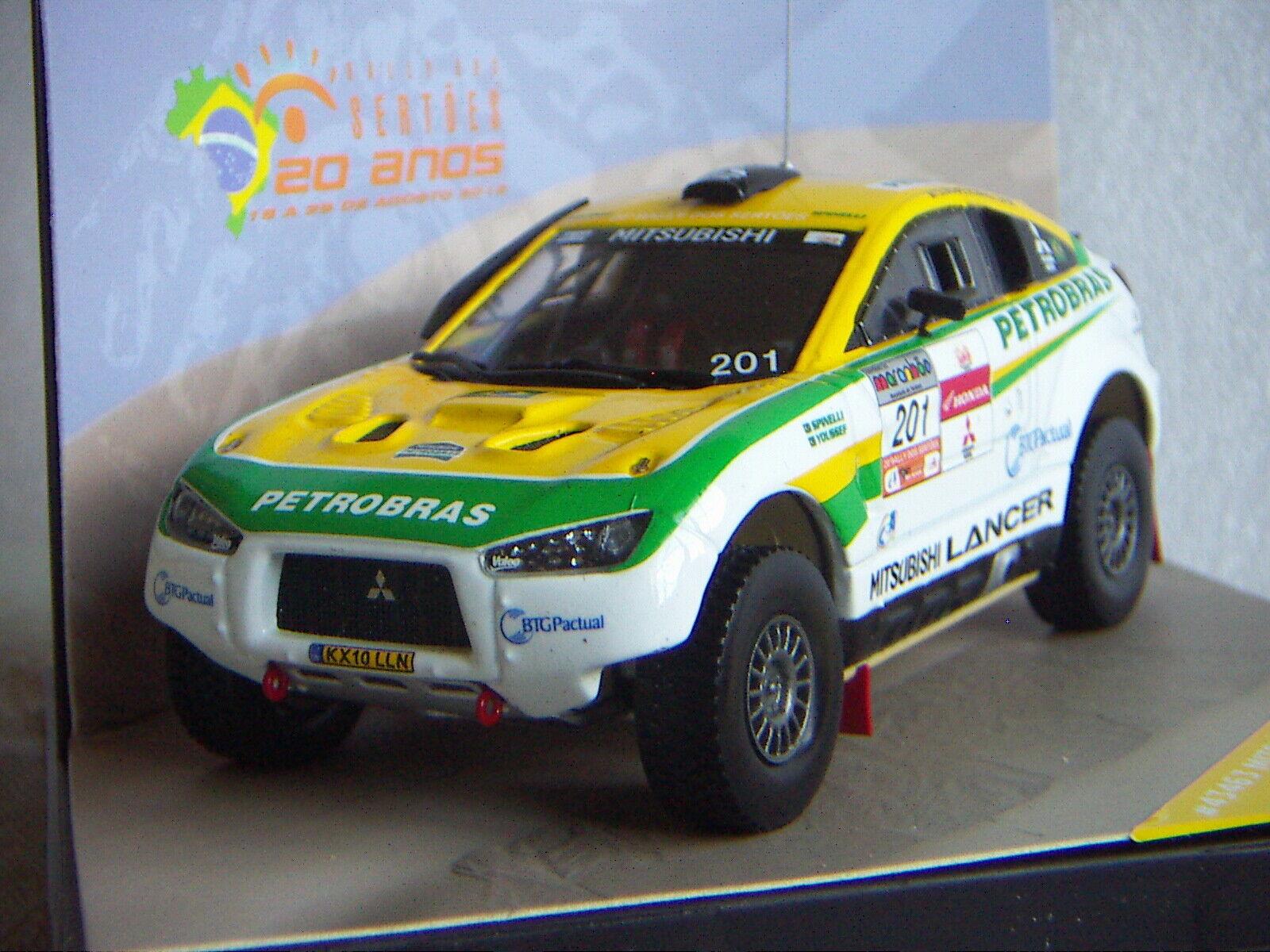 MITSUBISHI LANCER RALLYE 2012 - VITESSE au 1 43ème