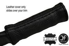 Costura negra cubierta de cuero Manija De Freno de mano se adapta TRIUMPH TR4A TR250 TR5 TR6