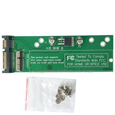 2012 MACBOOK PRO Retina A1425 A1465 MD213 SSD to SATA 22PIN adapter Flash Drive
