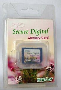 Newrich 256MB multimedia card.