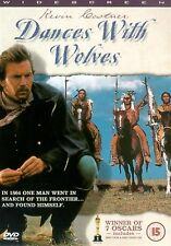Dances With Wolves Kevin Costner, Mary McDonnell, Graham Greene NEW UK R2 DVD
