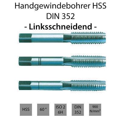 Gewindeschneider DIN 352 HSS-G M7 Nr.3 Fertigschneider Gewindebohrer