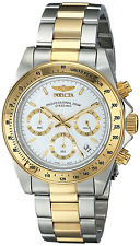 Invicta Men's Speedway Quartz Watch with Silver Dial Chronograph Display and Mul