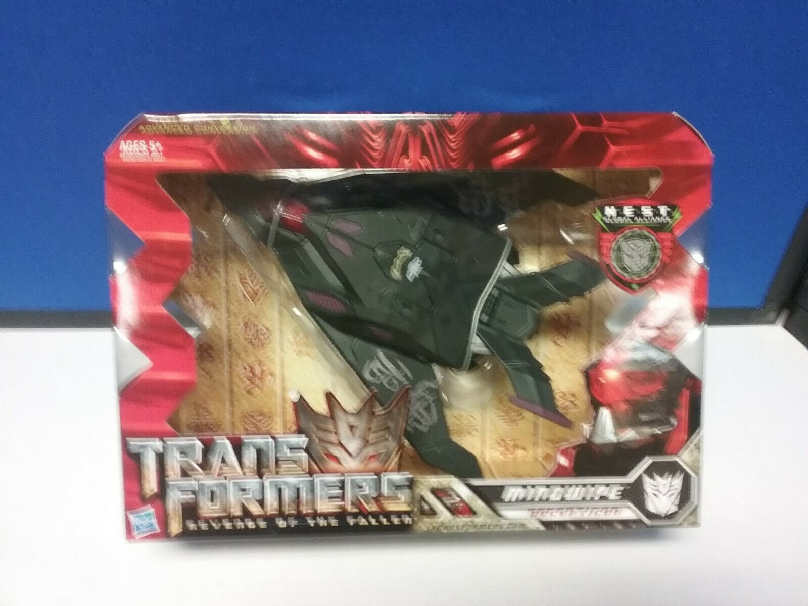 Transformers redF Mindwipe NEW FREE SHIP