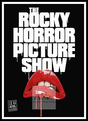 A2 The Rocky Horror Picture Show Vintage Movie Poster A4 sizes A3 A1