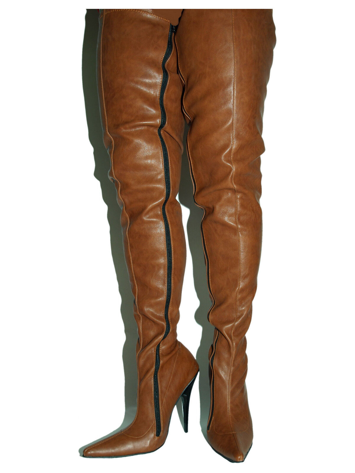 PROMOTIONS IMITATION LEATHER HIGHS BOOTS SIZE 5-16 HEELS-5,5 -13  PRODUCE POLAND