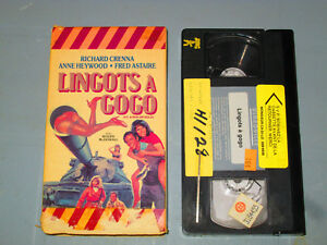 Lingot-A-Gogo-A-Run-On-Gold-VHS-French-Fred-Astaire-Teste