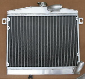 Alfa-romeo-Giulia-Bertone-Radiateur-refroidissement-alu-cooling-radiator-alloy