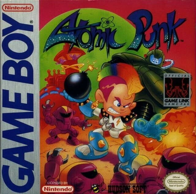 Atomic Punk Nintendo Game Boy For Sale Online Ebay