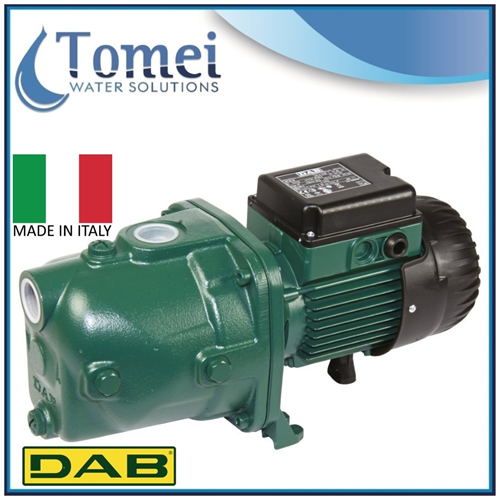 1,3Hp JET pump electric water well shallow pressure booster DAB 112 in Cast Iron