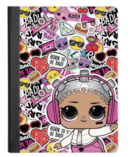 LOL Surprise Doll Wide Ruled Spiral Composition Notebook School Supplies 2 3 4