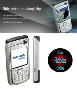 Nokia-N70-Silver-Unlocked-3G-VideoAnruf-2-0MP-Radio-FM-Made-Finnland-Orig-GUT