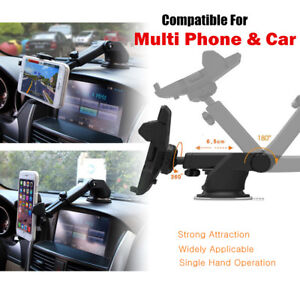 360° Mount Holder Car Windshield Stand For Mobile Phone GPS iPhone Samsung LG US