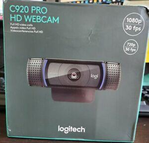 Logitech C920 Pro Hd Webcam 1080p Widescreen Video Call Camera