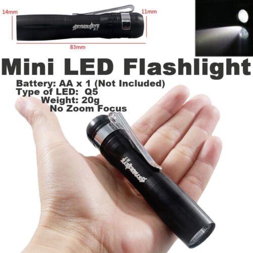 18650 Battery ♢ 2x Tactical Ultrafire Flashlight T6 High Power 5Mode Zoom Focus