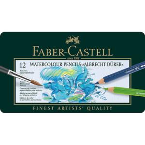 Tin of 12 Albrecht Durer Artists/' Watercolour Pencils NEW Faber-Castell