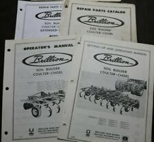 4 Brillion Repair Operators Parts Catalog Manual Soil Builder Coulter Chisel