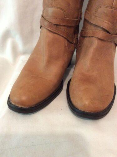 mollet Faith Bottes en taille marron mi cuir 37 5wwZIx7q