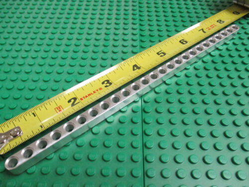 Works with Lego Technic kits. 25 unit long aluminum construction beam