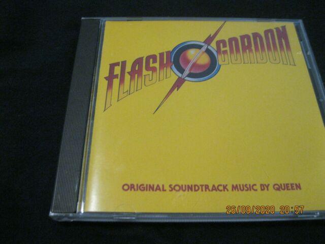 Flash Gordon  Original Soundtrack  Music By Queen Freddie Mercury  CD