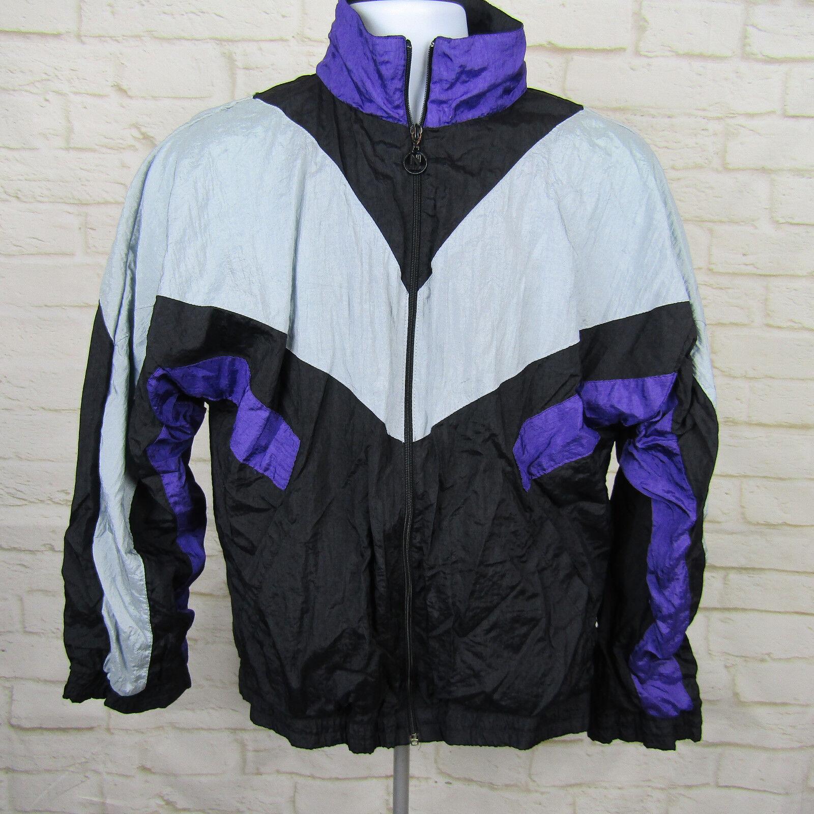 Women's Clothing Frugal Vintage Nike Jacket Women Medium Windbreaker Zip Up Activewear