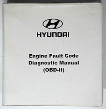 2000 Hyundai Engine Diagnostic OBD-II Shop Manual Accent Elantra Sonata Tiburon