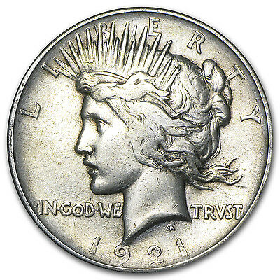 1921 Peace Silver Dollar - High Relief - Random Condition VG-VF - SKU #5130