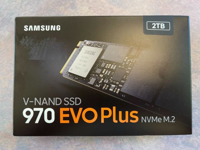 Samsung MZ-V7S2T0B/AM 970 EVO Plus NVMe M.2 2TB Internal Solid State Drive NEW