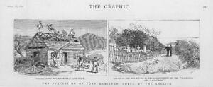 1887-Antique-Print-KOREA-Corea-Port-Hamilton-Cleopatra-Albatross-Guns-20
