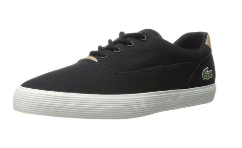 Lacoste Men/'s Jouer 1 Sneaker Black Canvas  shoes casual