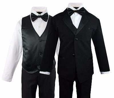 Black Boys 5-Piece Tuxedo Set