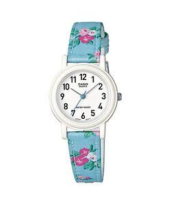 Armbanduhren Bescheiden Lq-139lb-2b2 Blue Casio Damenuhr Echtes Lederband Neues Modell Direktverkaufspreis