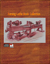Lathe work wood,Ivory,Metal turning, watch pivots, pinions Book Collection On CD