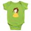 Infant-Baby-Rib-Bodysuit-Jumpsuit-Romper-Clothes-Beauty-amp-Beast-Princess-Belle thumbnail 19